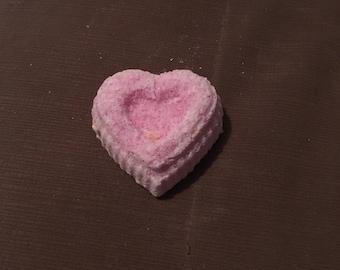 Cotton candy bath bomb
