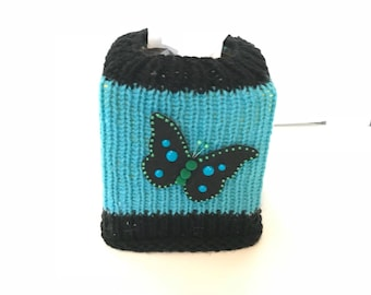 Tissue box cover, butterfly