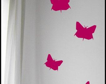 Art mural papillon | Etsy