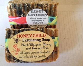 Honey Child Honey and Oatmeal Artisan Soap