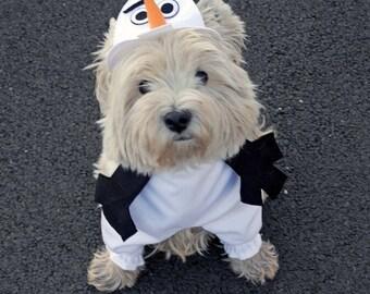 Olaf the snowman costume