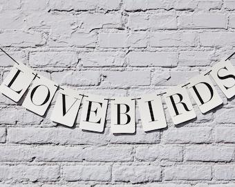 Love Birds Rectangle Banner