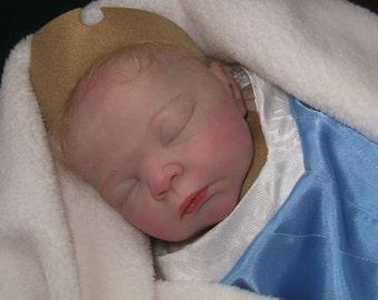 Disney Princess Aurora Sleeping Beauty Reborn Baby Art Doll Collectable Serah Stoete