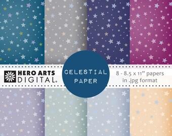 Hero Arts Celestial Paper DK118