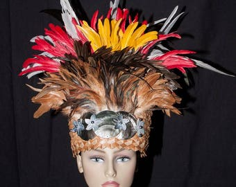 Tahitian & Cook Islands Headpiece. Perfect For All Ages.