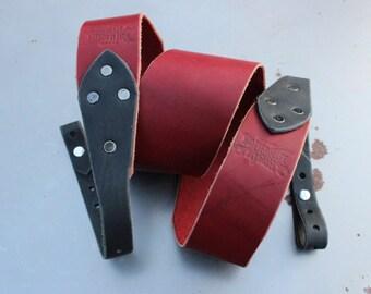 Banjo Strap - Buckstache - Made In USA, Electric, Acoustic, Bass, Dobro, Custom, Handmade, Gift, Country, Americana, Bluegrass