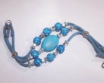Natural Turquoise Bracelet December Birthstone