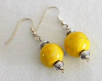 raku earrings