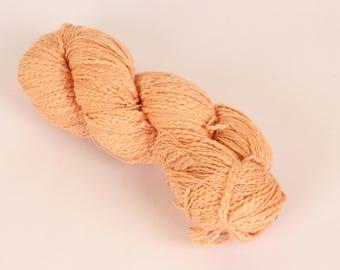 Natural Slub Cotton Yarn - Fluff 38  Novelty Yarn  100% Cotton Slub Yarn Thread Thick 'n Thin