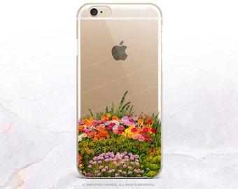 iPhone 8 Case iPhone X Case iPhone 7 Case Garden Clear GRIP Rubber Case iPhone 7 Plus Clear Case iPhone SE Case Samsung S8 Plus Case U164