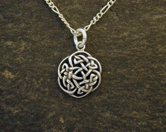 Sterling Silver Celtic Pendant on a Sterling Silver Chain.