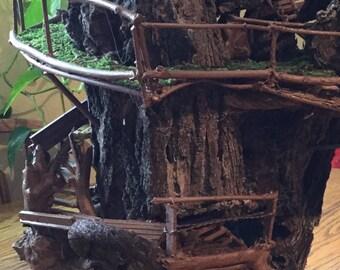 Miniature Tree/Bird House