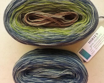 Kit -- GLOBAL MEDLEY -- Sport Weight -- Color Changing Cotton yarn (150 gr /480 yards)