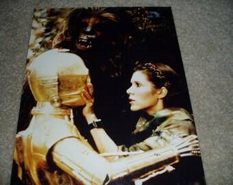 Altes Foto der Star Wars 8 x 10