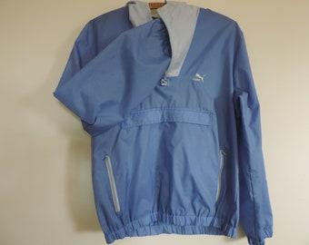 PUMA Wind Breaker Track Jacket Puma Athletic Wear Hoodie Track and Field Wear Soccer Jacket