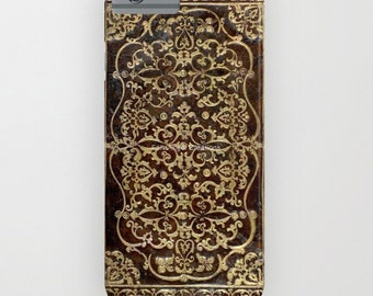 Phone Case, 18 Styles Available! Gilded Leather Tome Book Cover - iPhone, iPod, & Samsung Galaxy!