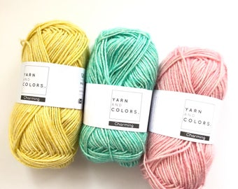yarn and colours - all skeins