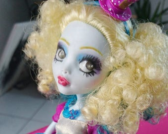 Ooak Custom Monster High Doll - Lablue Hatter