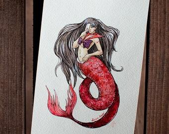 Mermaid Sailor Mars