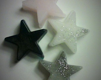 Star Soaps 50 Wedding favors Bulk DIY Savings......These soaps are not wrapped
