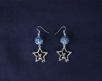 Tinkerbell earrings in the stars