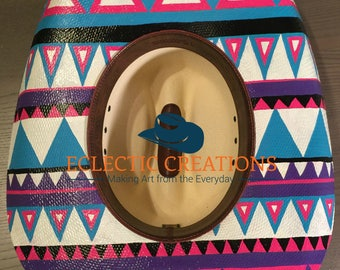 Custom Hand Painted Cowgirl Hats or Hand Painted Cowboy Hats (Made to Order)
