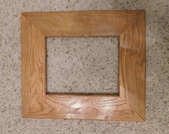 8x10 Finished Oak Frame (#5325)