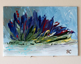 Miniature Abstract Painting