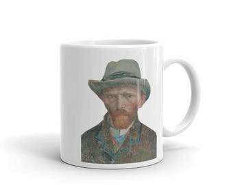 Vincent van Gogh Self Portrait 1887 Mug