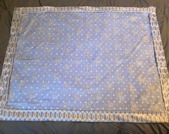 Elephant royal baby blanket