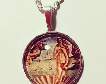 Birth of Venus Pendant Necklace
