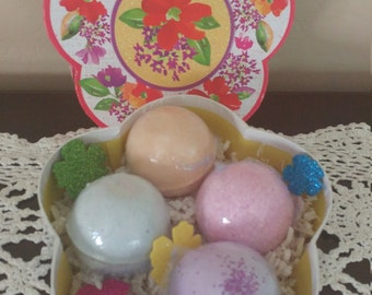 Mothers Day Bath Bomb Gift Set