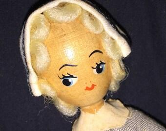 Wood Polish Doll