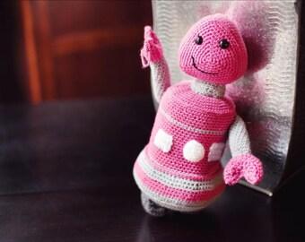 Annabelle Plush Crocheted Robot