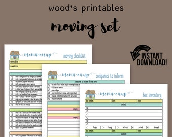 moving planner set moving checklist moving away new home planner kit - New Home Planner