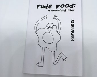 Rude Food: A Colouring Zine
