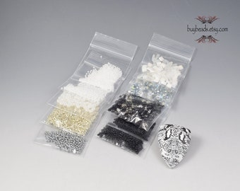 Inspiration Kit #86, Polymer Clay, Beads, Crystals