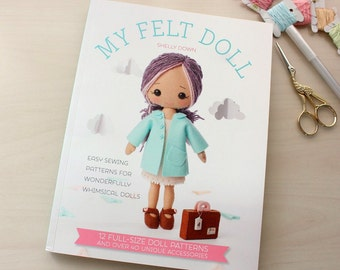 Limited Stock - My Felt Doll Craft Book