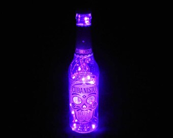 Cubanisto Bottle Light - Day of the Dead Gift
