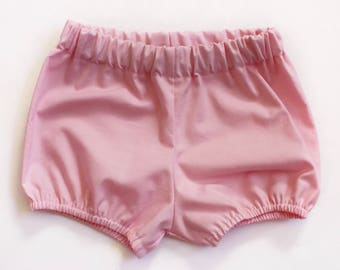 Pink Bloomers / Bloomers / Baby Bloomers / Cotton Baby Bloomers / Bubble Shorts