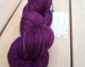 Wool 75% Merino 20nylon 5stellina hand dyed