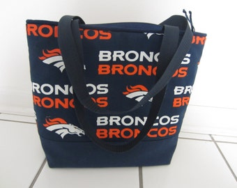 BRONCOS Shoulder Bag Sport Hobo NFL Totes Nevy Clutch Handbags