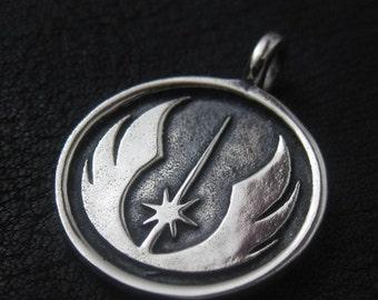 Silver Jedi pendant