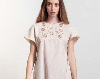 Dress -Handmade -Girls Dresses-  Boho Dress - Bohemian Clothing -Tunic dress -Birthday Gift -Embroidery-Dresses-Tunic-Summer dress-Boho chic