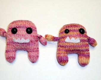 Twin Pink Mini Monsters