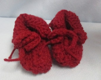 Baby Booties Moccasin Type