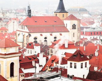 "Prague Photography, Prague Architecture, ""Cool Mist"""