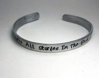 Dr. Who - We're all stories in the end Bracelet