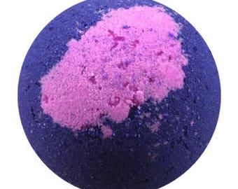 Black Raspberry Vanilla Luxury Bath Bomb