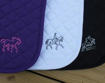 Embroidered Saddle Pad